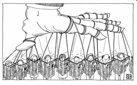 Manipulation par les médias